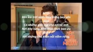Anh Đừng Đi - Hương Giang & Mai Tiến Dũng Lyrics