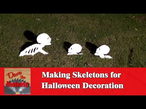 How to Make a Skeleton for Halloween Decoration
