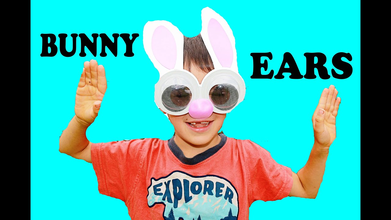 diy easter bunny ears family fun kids craft easter youtube