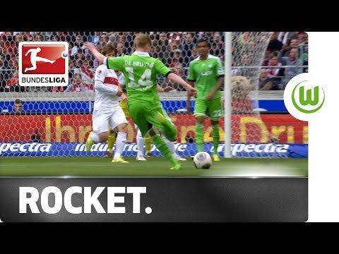 De Bruyne Rocket Helps Keep Wolfsburg in Champions League Hunt