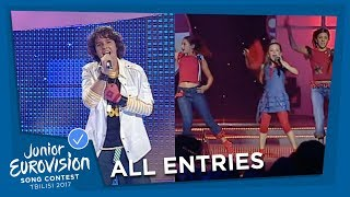 ALL JUNIOR EUROVISION SONGS FROM PORTUGAL 🇵🇹  / SPAIN 🇪🇸