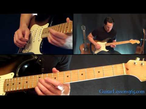 Yellow Ledbetter Guitar Lesson - Pearl Jam - Famous Riffs