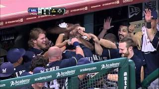 2011/09/03 Counsell's two-run homer