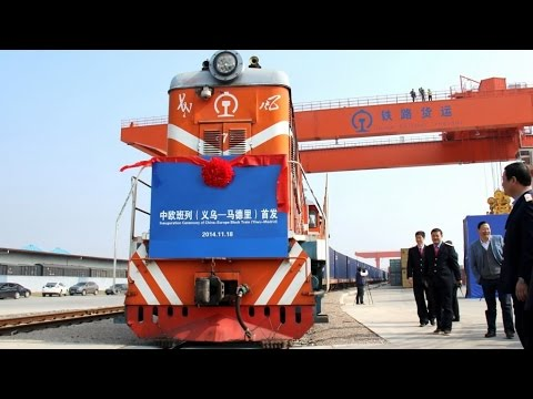 First Britain-China freight train arrives in E. China's Yiwu