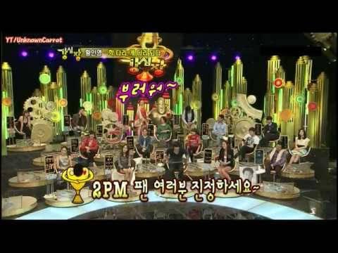 [HQ][CUT][100216] 2PM Taecyoen - Acting + Dancing @ Strong Heart