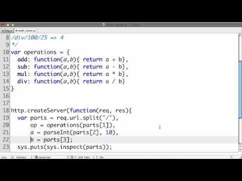Node js Simple Web Service