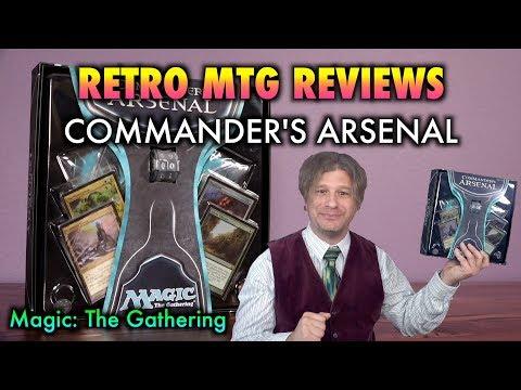 MTG - Retro Magic: The Gathering Reviews: Commander's Arsenal