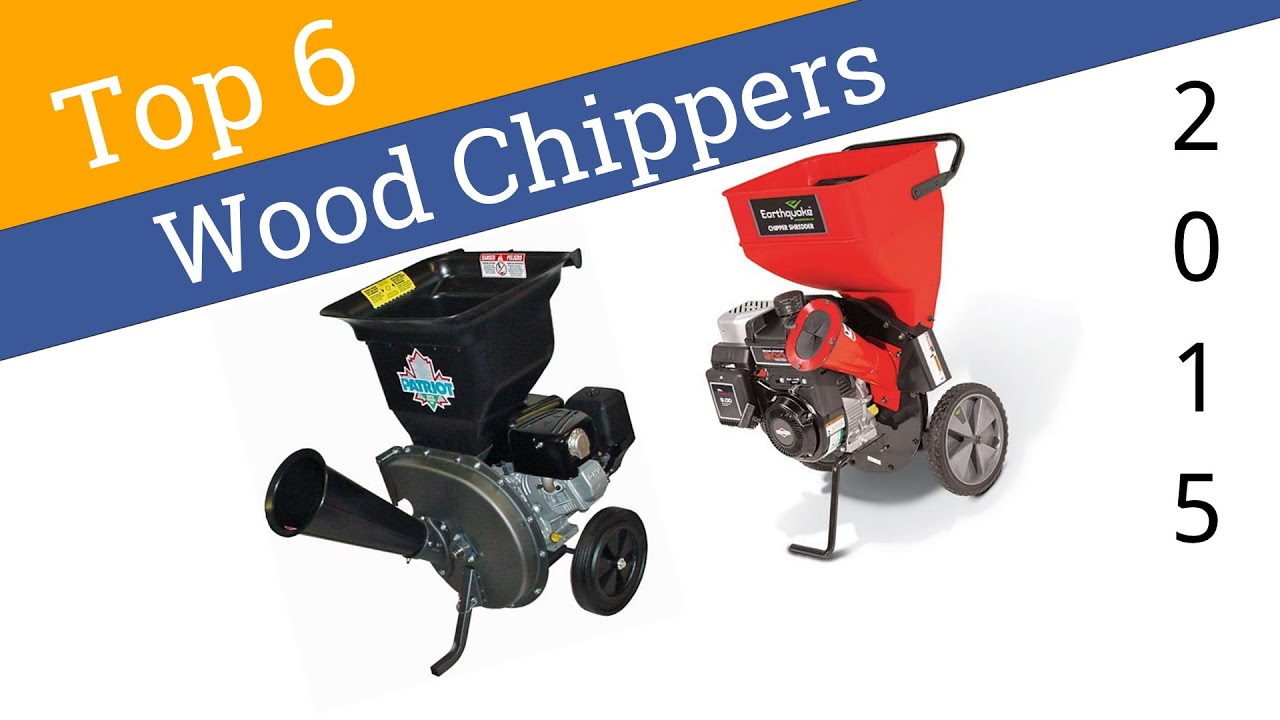6 Best Wood Chippers 2015 - YouTube