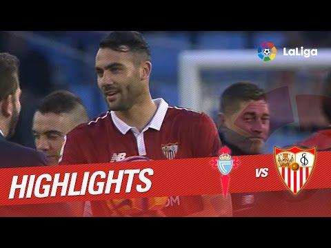 Resumen de Celta de Vigo vs Sevilla FC (0-3)