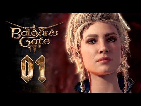 Download Baldur's Gate 3 – Movie Series / All Cutscenes ★ #1: A Nautiloid In Hell 【Viona / Half-Elven Wizard】