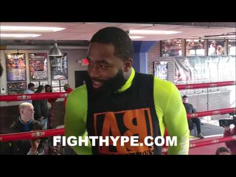 ADRIEN BRONER RESPONDS TO CRITICS OF WEIGHT STRUGGLE; SAYS MOVE TO 147 PERMANENT