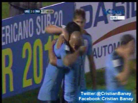 Uruguay 4 Paraguay 0  (Relato Julio Rios) Eliminatorias a Rusia 2018
