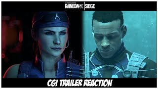 Rainbow Six Siege: Shifting Tides CGI Trailer Reaction
