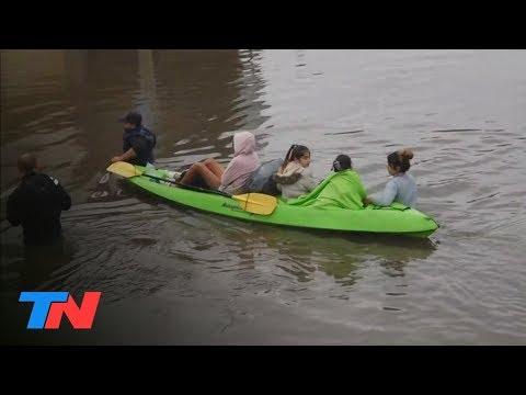 La inundación en