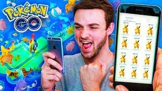 Pokemon GO - INSANE SPAWNS + DRAGONITE x12 (AMAZING)!