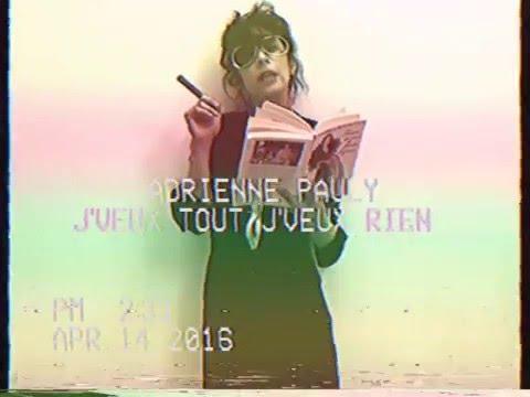 Adrienne Pauly - J'veux tout, j'veux rien (Clip Officiel)