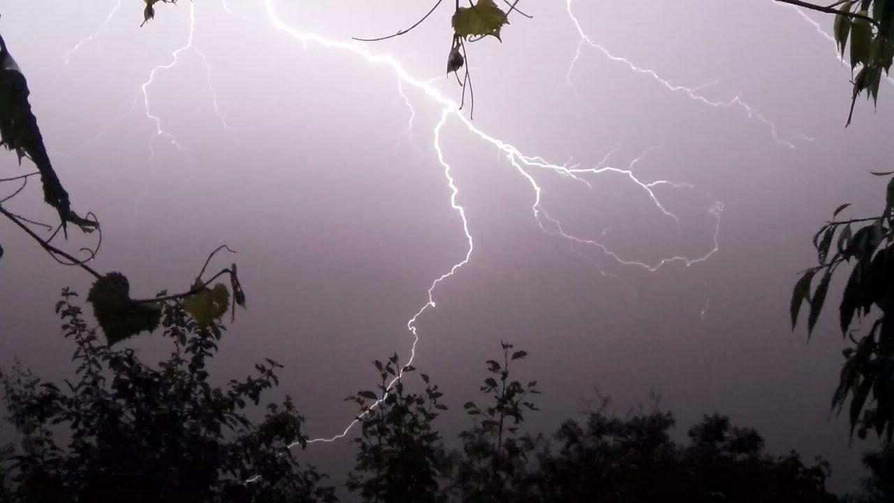 Скачать звук дождь и гром