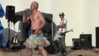 2008.8.31.福島県いわき市三崎公園野外音楽堂にて Rock!Punk!WorldMusic! ブラジルUFO http://homepage2.nifty.com/tukapan/