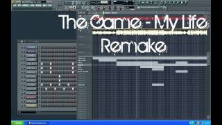 FL Studio remake: The Game - My Life WITH FLP DOWNLOAD AND VOCALS!