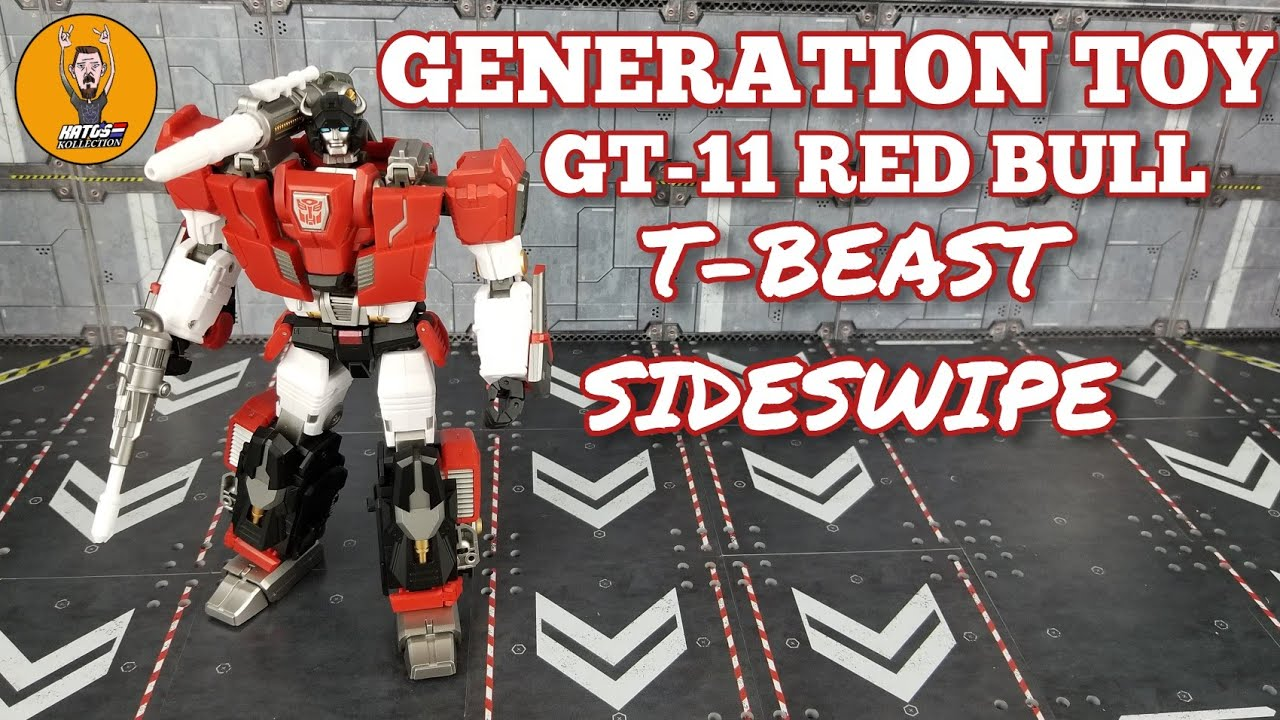 Generation Toy GT-11 Red Bull Review by Kato's Kollection