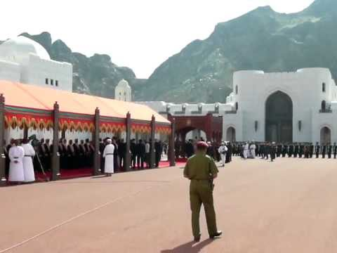Queen Beatrix welcomed in Oman