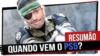 Resumão: Quando chega o PS5? Rage 2, Filme de Monster Hunter e muito mais - Game Over