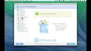 [iPhone 5C SMS Recovery for Mac] Retrieve iPhone 5C Message attachments from iTunes Backup on Mac
