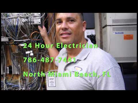 residential electrician  24 hour north miami beach  RESIDENTIAL