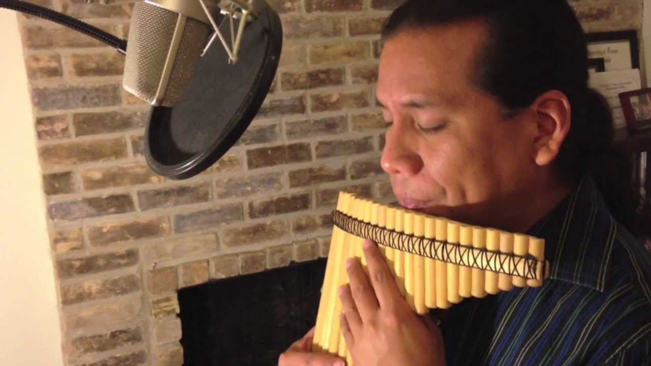 The Beatles Let It Be Panflute Eduardo Garcia Youtube