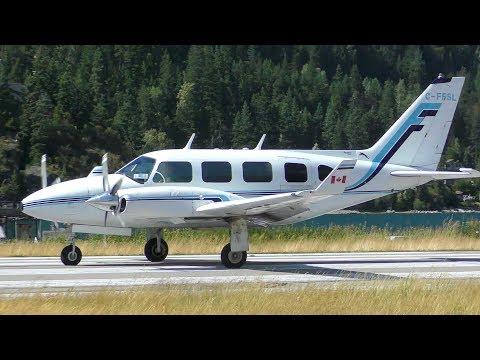 Piper PA-31 Navajo Panther Takeoff