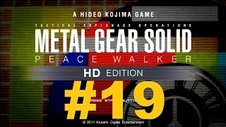 (60fps) Metal Gear Solid - Peace Walker | Storyline Mission 19 - Cocoon Bossfight!!!