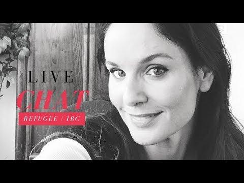 Sarah Wayne Callies  Facebook Live Chat  Refugee IRC 200917