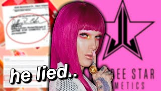 jeffree star DOESN'T OWN jeffree star cosmetics?! *PROOF*