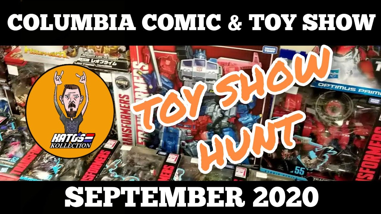 Columbia Comic and Toy Show September 2020 By Kato's Kollection