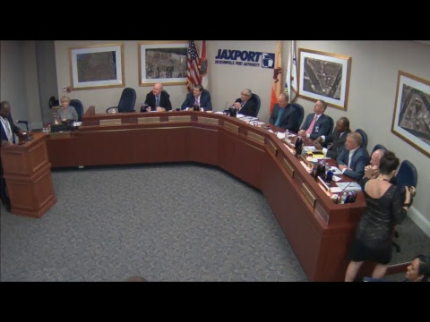 Sept. 25, 2017 JAXPORT Board of Directors meeting