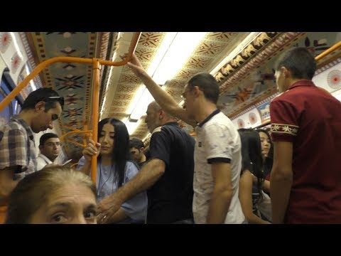 Yerevan, 18.09.18, Tu, Video-3, Kayaranits metro