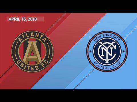 HIGHLIGHTS | NYCFC vs. Atlanta United | 04.15.18