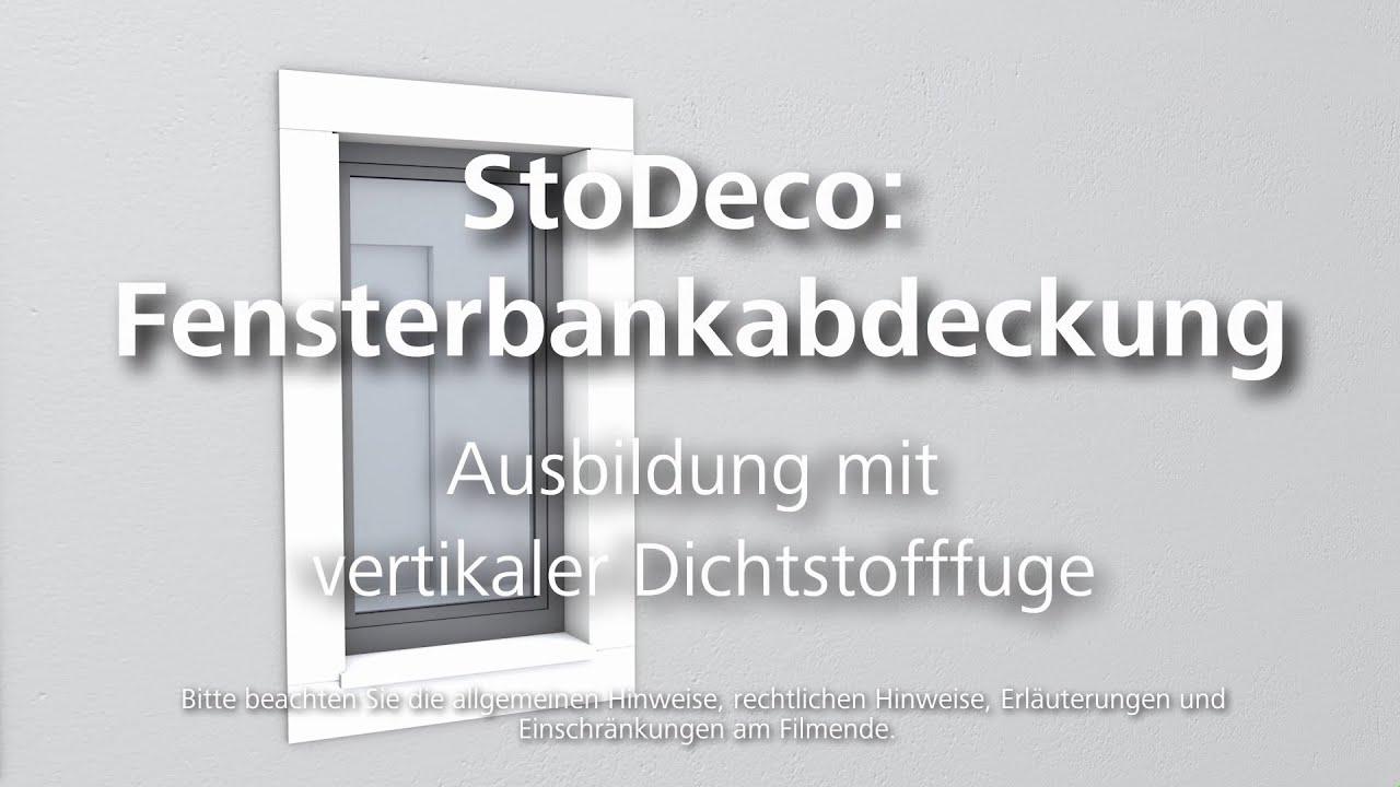 Plastische Fassadenelemente – Fensterbankabdeckung – Ausbildung ...
