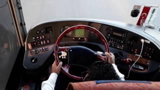 Uludağ 10 HF 257 İzotaş - İzmir Çıkışı Otobüs Yolculuğu   Aydın Yolu (Travego 15 SHD 2+2)