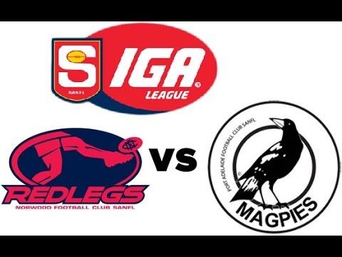 Norwood vs Port Adelaide Magpies (custom teams - SANFL - AFL Live 2012) RE-UPLOADED