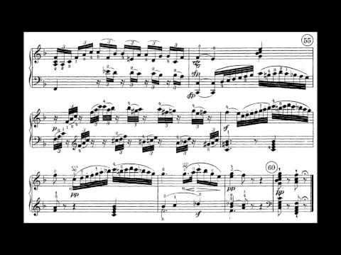 Beethoven  Sonata No 1 in F minor, Op 2, Complete with Sheet Music