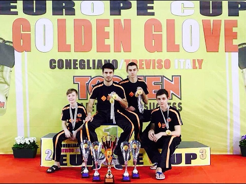 "Как мы поехали на European Kickboxing cup ""Golden Globe 2017"""