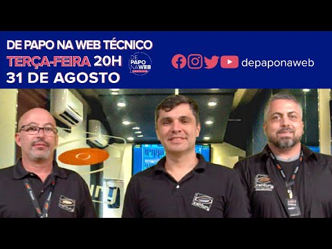 DE PAPO NA WEB - TÉCNICO: ESTÚDIO CENTURY