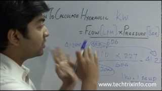 How to calculate hydraulic kilowatt (kw). ✔