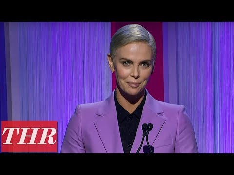 Charlize Theron Announce The Chuck Lorre Scholarship Winner | Women In Entertainment