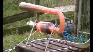 Valveless Pulsejet Test 7-11-2010