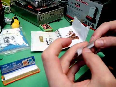 Tutorial - Come rullare una sigaretta di tabacco