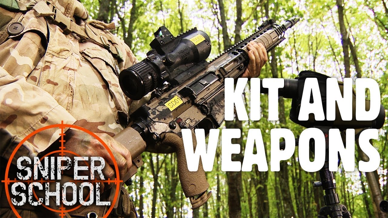 Sniper School: What Kit Do Military Marksmen Carry With Them? | Forces TV