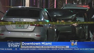 One Dead In Downtown Miami Shooting