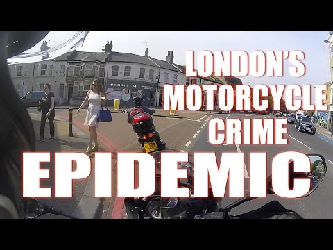 London's Motorcycle Crime Epidemic - @SadiqKhan